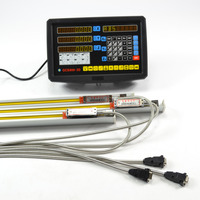 3 Axis Digital Readout Display DRO KITS With High Precision Linear Scale Linear Encoder Linear Ruler Optical