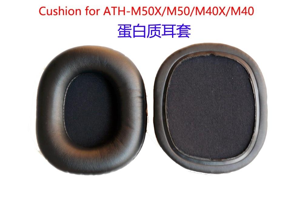 10 pair Replace cushion/Ear pad for Audio Technica ATH-M50X ATH-M50F CWH ATH-M50Xbl ATH-M50r headphones(headset) Earmuff