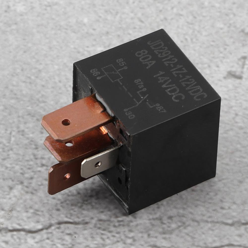 Car truck boat 4 PIN High Power Car Relay 12v 80A with S Relay Harness Socket