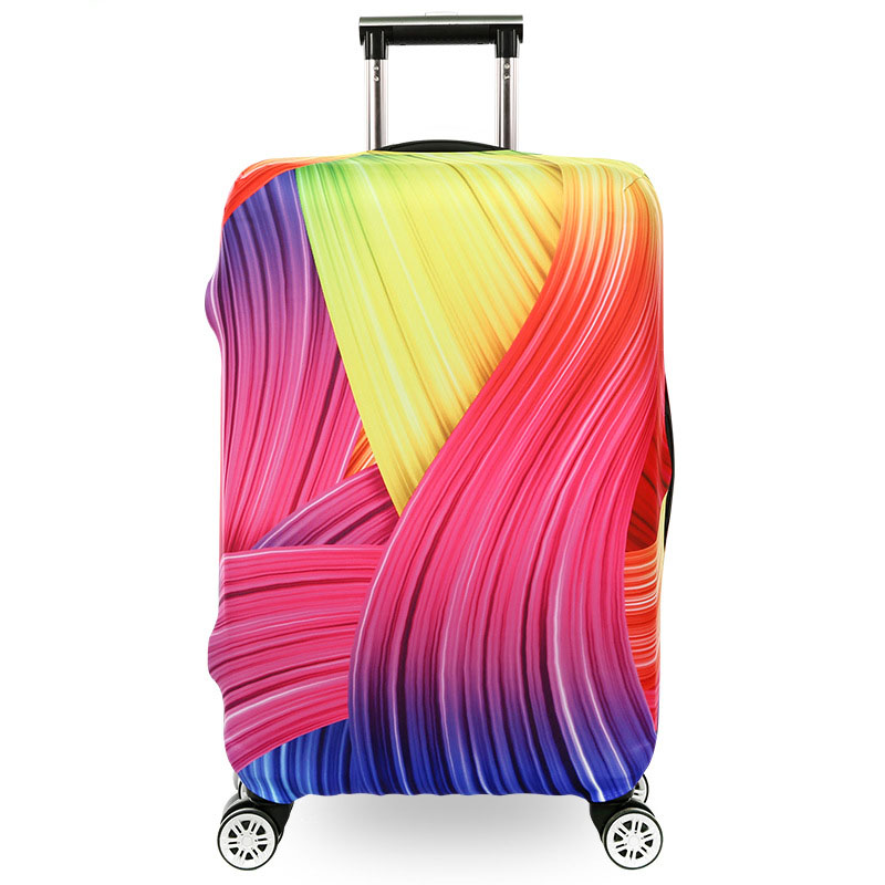 TRIPNUO Seagulls Thickest Protective Luggage Cover Waterproof Travel Luggage Cover Suit For 18-30'' Case Elastic Suitcase Cover