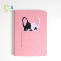 DREAM FISH Case Embroidery And Lace Puppy For IPad Mini 1 2 3 4 Auto Sleep