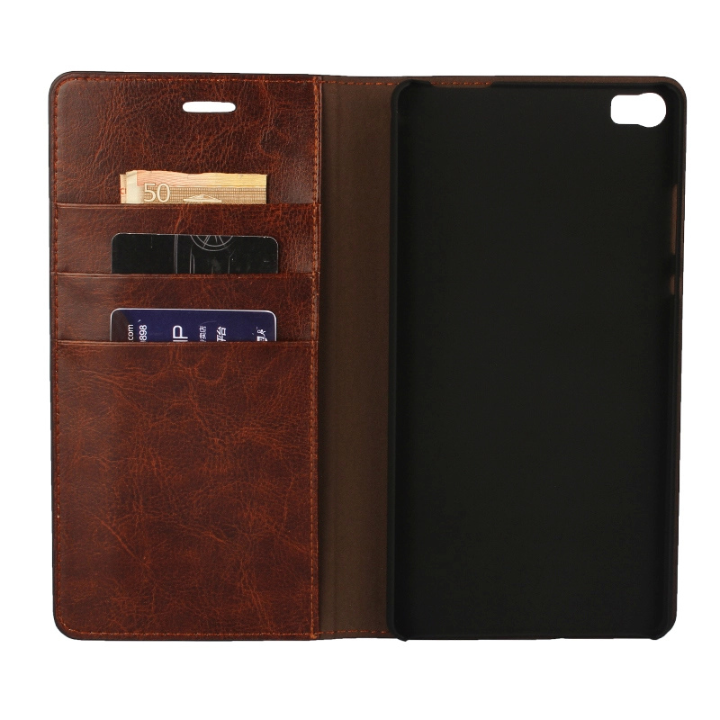 """Deluxe Wallet Case Huawei P8 Max premium leather Case For Ascend Huawei P8 Max 6.8"""" Flip Cover Phone Bags case huawei case huawei p8 leather case -"""