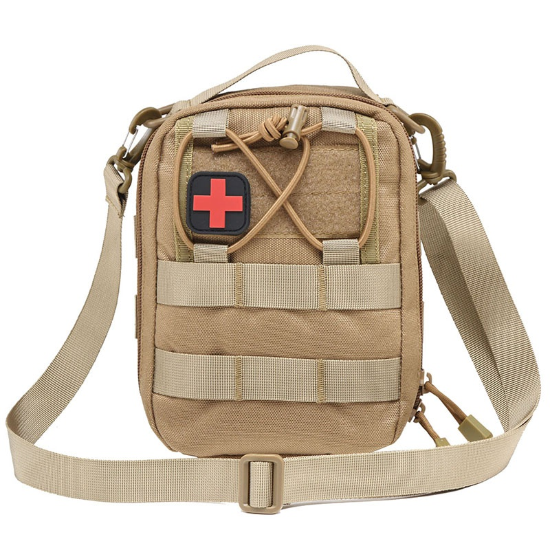 New Emergency Kits Empty Bag Tactical Medical First Aid Kit Military Waist Pack Camping Travel Tactical Molle Pouch Mini