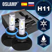 Oslamp Led CREE CSP Chips 6000K Super Bright H11 Car Headlights 2WD 4WD Auto Head Light