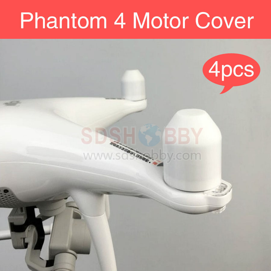 4pcs/set Phantom 4 Motor Cover Protector Guard Cap 3D Printed Accessories for DJI Phantom4
