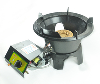 High Quality Big Fire Gas Burner Stove Cast Iron Good Quality Cooking Stove With Air Blower