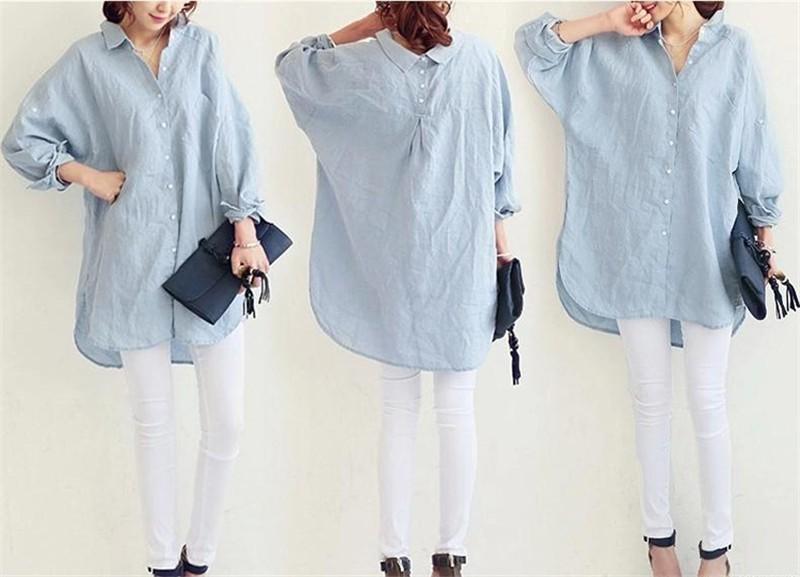 HTB1ugoRPVXXXXboXpXXq6xXFXXXG - Woman Blouses Office Lady OL Elegant Shirt