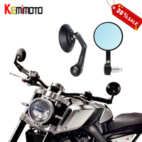 Motorcycle Bar end Mirror Rear View Rearview Mirror For BMW R NineT For Ducati Scrambler Motorcycle Accessories