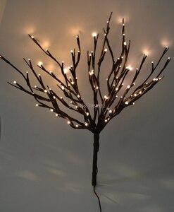 Веточный светильник, 20 дюймов, 100 светодиодов, для рождественской вечеринки, свадьбы, домашнего декора