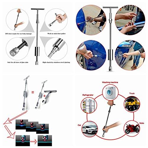 Set Black Body Set Door Repair Dings PDR Car Starter And Paintless Hail Hand Damage Kits Tool For