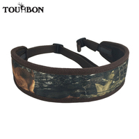 Tourbon Hunting Camo Shoulder Strap Neoprene With Adjustable Buckle Hunting Gun Accessories For Shooting Rifle Sling