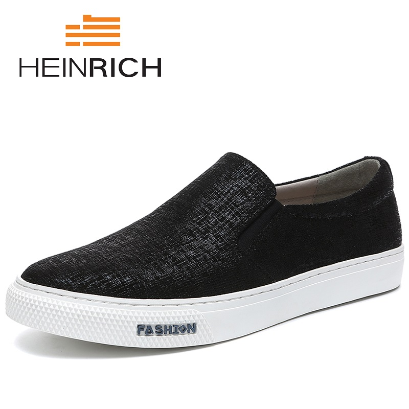 Генрих бренд 2018 Новое поступление Мужская обувь удобные Для мужчин обувь повседневная обувь на плоской подошве мужские кроссовки сезон: ве