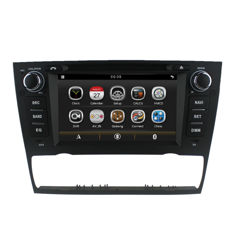 Car DVD Player For 3 Series <font><b>BMW</b></font> <font><b>E90</b></font> Saloon E91 Touring E92 Coupe E93 Cabriolet 318 320 325 GPS Auto Air steering wheel RDS radio