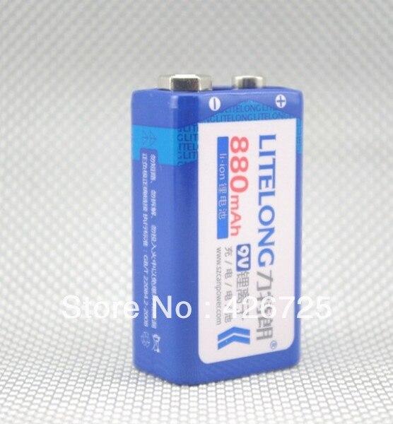 Новое поступление 880mAh 9v литий ионная аккумуляторная батарея 9 вольт для производителя mike 3 года гарантии!|battery manufacturer|battery fornew arrival | АлиЭкспресс