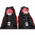 2 Pair Unsiex Women Lady Men Elastic No Tie Locking Shoelaces Trainer Running Athletic Sneaks Shoe Laces Shoelaces Shoestrings