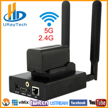 Best H.265 HEVC/H.264 AVC Wifi HDMI IPTV streaming Encoder for live Broadcast via RTMP support wowza,