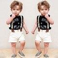2017 Baby Boy Одежда Лето Дети Мальчик Одежда Наборы Kid Детская Одежда Roupas Bebes Ребенок Мальчик Детский Комбинезон Детские Комбинезоны