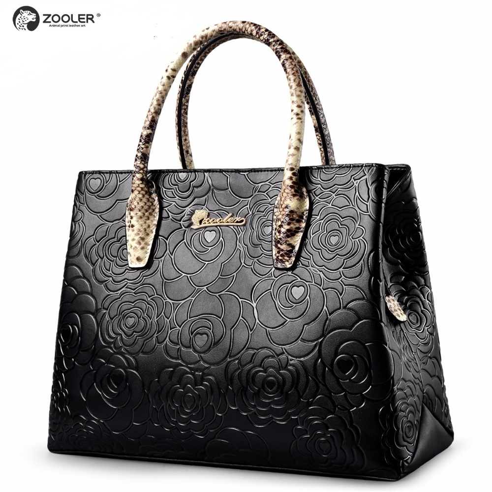 Middle-aged hot genuine leather bags women tote ZOOLER 2019 Cow leather bags handbag luxury elegant Black bolsa feminina #5002Middle-aged hot genuine leather bags women tote ZOOLER 2019 Cow leather bags handbag luxury elegant Black bolsa feminina #5002