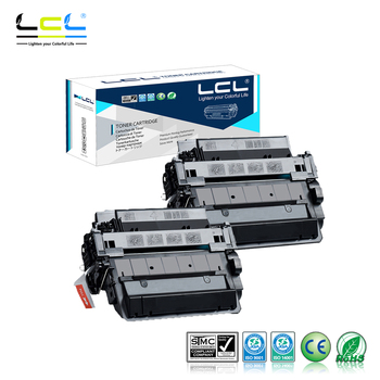 LCL 51A 51X Q7551A Q7551X 13000 Pages (2-Pack Black) Toner Cartridge Compatible for HP LaserJet P3005/P3005D/P3005N/P3005DN