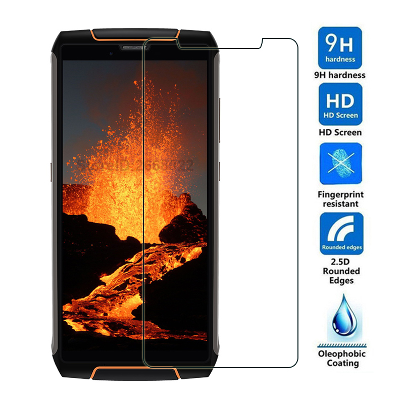 Cubot King Kong 3 ip68 Tempered Glass Cubot King Kong 3 Screen Protector For Cubot King Kong 3 4G Smartphone Glass Film Cover(China)
