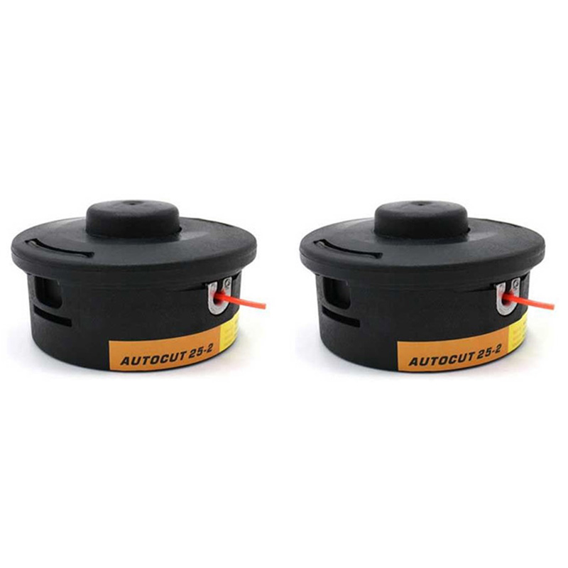 2Pcs Trimmer Head For Stihl Autocut 25-2 Fs44 Fs55 Fs80 Fs90 Fs100 Fs110 Fs130 Garden Accessories
