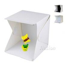 Mini Folding Led Light Photography Light Box Portable Fotografia Personal Photo Studio Room Soft Box For DSLR Camera Lampe
