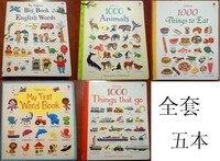 Не ткань книги 5 шт./компл. твердый переплет моей первой серии Английский children'sl просвещения теплый родитель-ребенок сборник рассказов чтени...