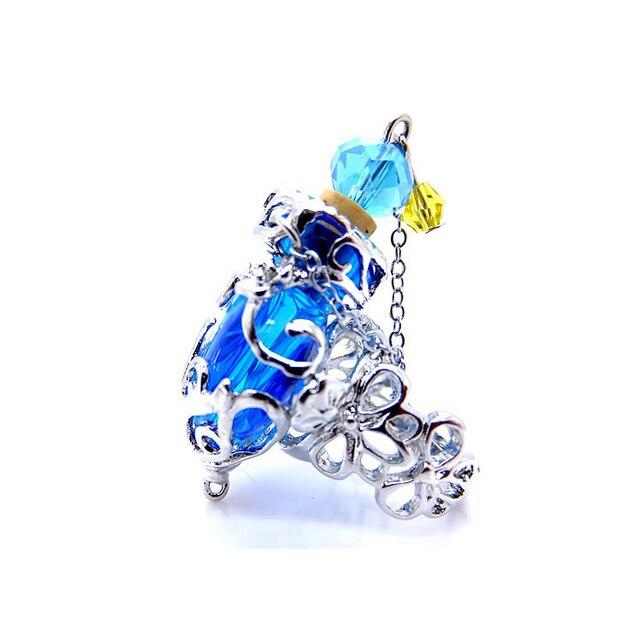Женское позолоченное кольцо свадебные кольца стеклянные с рассеивателем