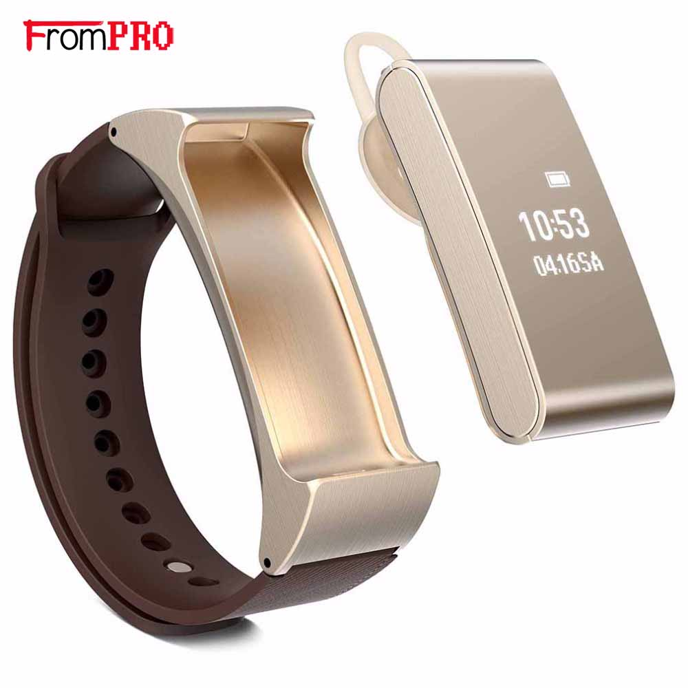 Smart Bracelet Talkband M8 Wireless Bluetooth Headphone Headset Pedometer Wristband Watch for Android iOS PK Xiaomi