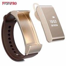 Умный браслет talkband m8 & беспроводная связь bluetooth наушники гарнитуры шагомер часы браслет для android ios пк xiaomi mi группа 2