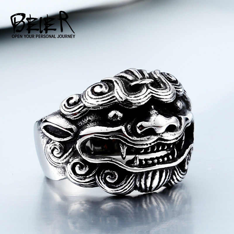 Stainless Steel Ring 2017 New Jewelry Wholesale Factory Price Animal Ring BR8-185