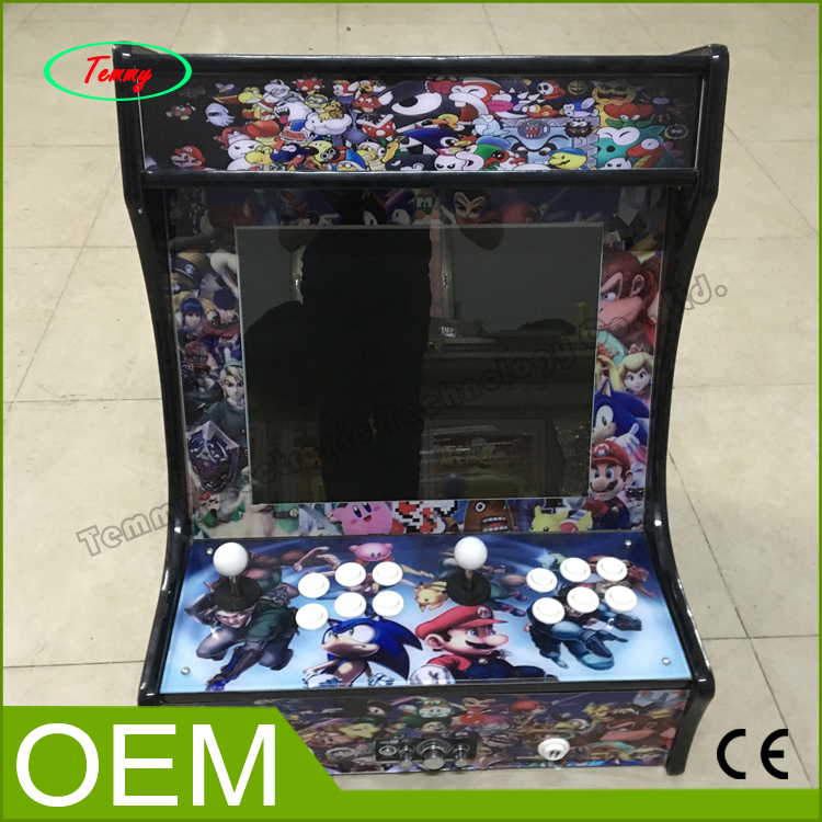 now products Family Professional classic wooden mini simulator arcade desktop video game console machines,Mini arcade machine