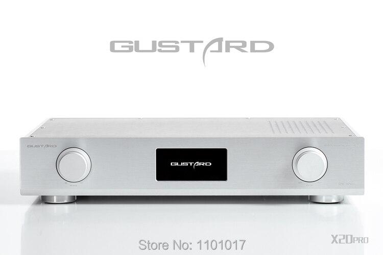 Gustard X20Pro 2x ES9028pro DAC HIFI EXQUIS DSD/DOP/384K Hi-end DAC-X20pro decoder GDX20Pro gustard dac x20pro x20 pro dual es9028pro xmos dsd dop 384k dac decoder