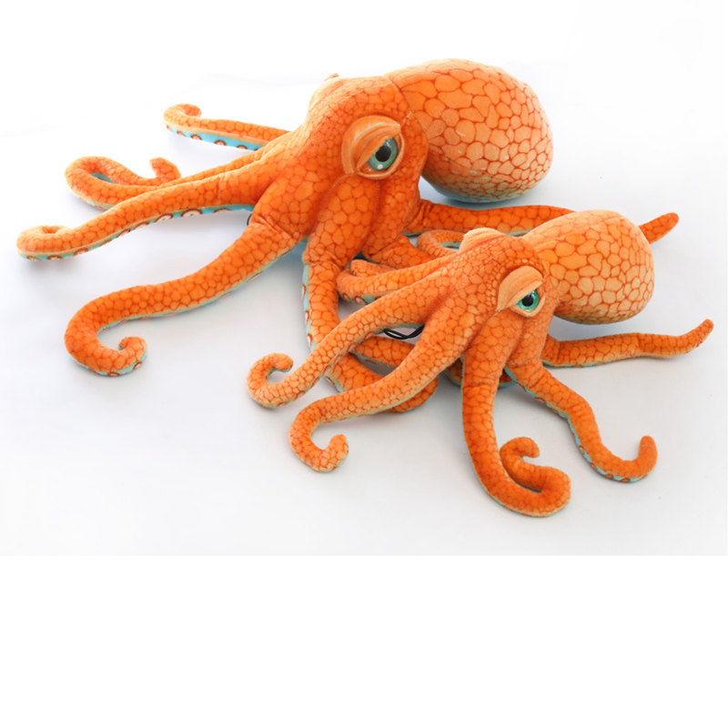 1pc Simulation Octopus Plush Stuffed Toy Soft Animal Car Decoration Home Accessories Cute Animal Doll Gifts For Boys