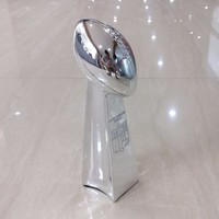 23cm United States Rugby Trophy Replica Silver Vince Lombardi Trofeo Cups American Football World Champions Team Awards Trophies
