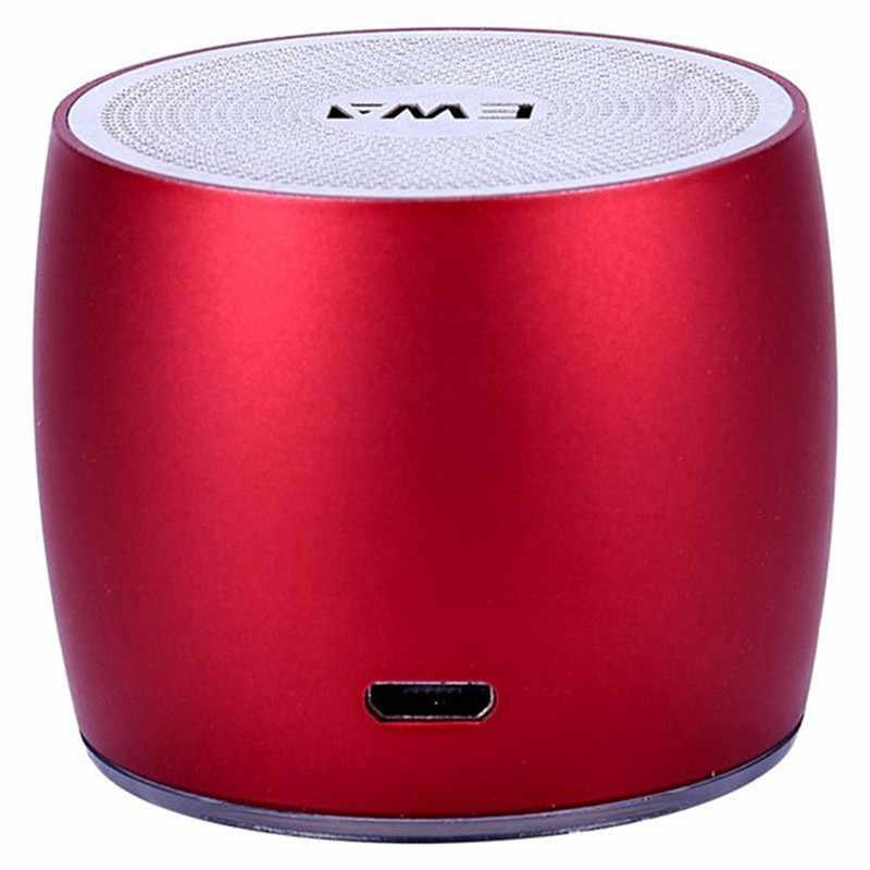 EWA портативный динамик для телефона/планшета/ПК мини беспроводной Bluetooth динамик металлический USB вход MP3-плеер