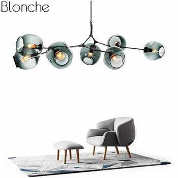 Nordic Modern Chandelier Industrial Led Lamp Ceiling Chandelier Lighting for Living Room Bedroom Kitchen Hanging Light Fixtures - DISCOUNT ITEM  29% OFF All Category