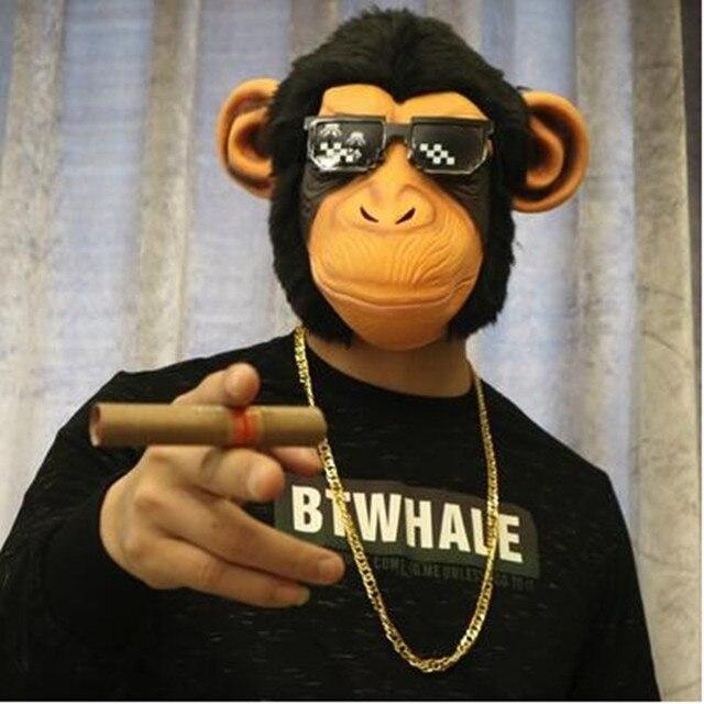 Маска для хэллоуина Орангутанг