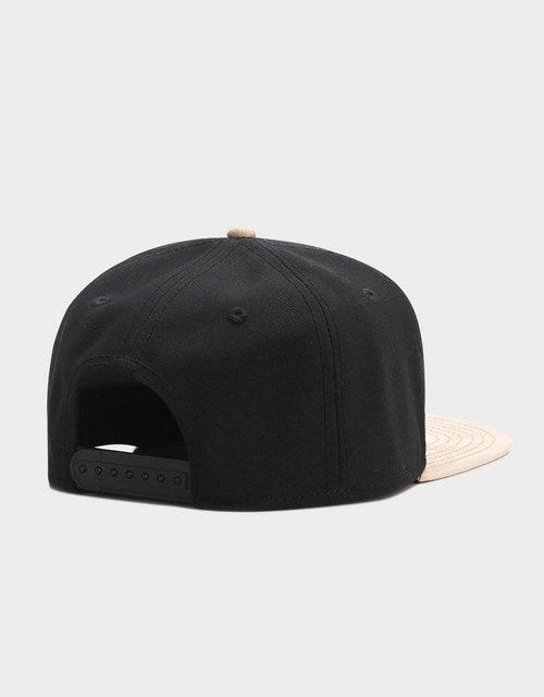 Gorra negra ajustable hip hop snapback para hombre