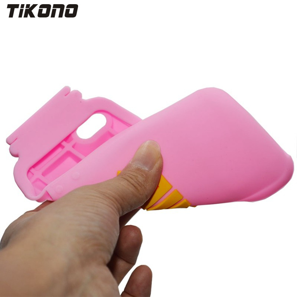 Tikono 3D mjölkflaskedesign Mjuk silikonfodral för iPhone 5 5S söt - Reservdelar och tillbehör för mobiltelefoner - Foto 5