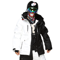 StormRunne Winter Outdoor male colorful coat waterproof windproof thick warm Mens double plate breathable ski jacket NEW