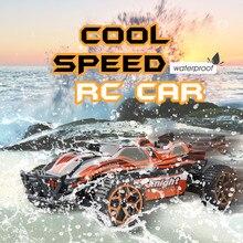 ET 1/18 Hobby Toys 2.4G 4CH 4WD Coche RC Rastreadores de Rock Motores de doble Disco RcToys Modelo Off-Road Buggy Coche de coche Para Niños regalo