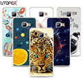 """For Samsung Galaxy J5 Prime On5 2016 Case silicon soft TPU cover lion Flower case For Samsung Galaxy J5 Prime Duos G570F 5.0"""""""