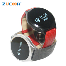 ZUCOOR V06 Smart Wrist Band Watch Blood Pressure Heartrate Bracelet Life Waterproof Clock Wristwatch For iOS