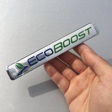 1 шт 3d abs Эмблема ecoboost значок спортивный автомобиль наклейка