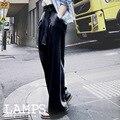 2019 модные брюки Новые широкие повседневные Летние прямые брюки женские свободные брюки женские