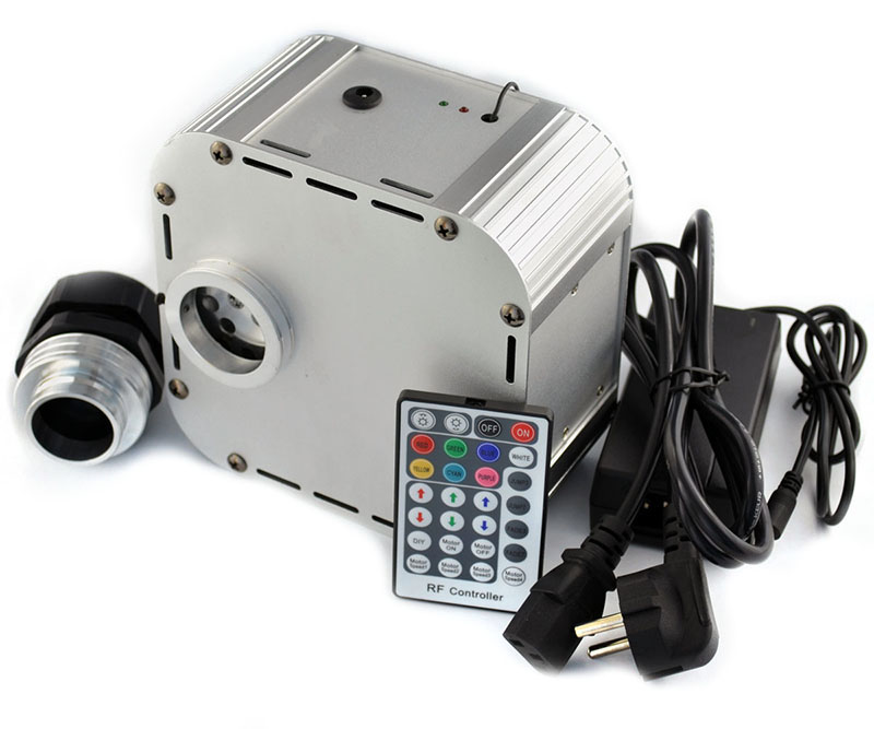 DIY RF remote RGB Twinkle LED Fiber Optic Light engine For ...