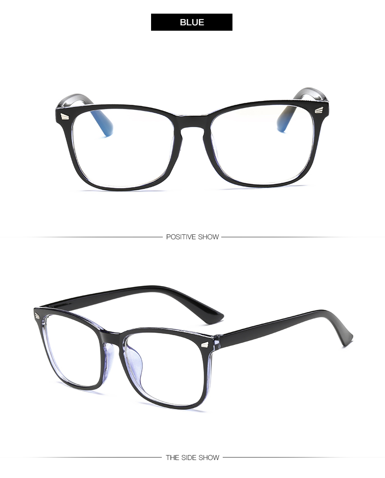 blue Non-Prescription Blue Light Blocking Glasses