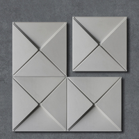 Concrete Brick Silicone Mold Concrete tile mold Home decoration Silicone clay mold Hexagon creative concrete wall mold