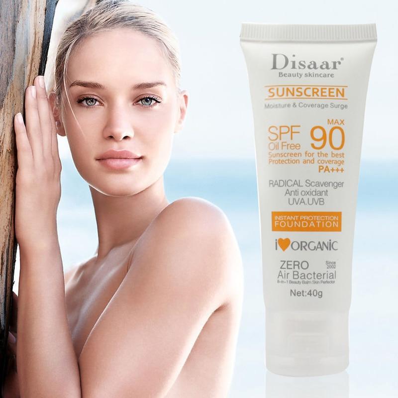 Facial Body Sunscreen Whitening Sun Cream Sunblock Skin Protective Cream Anti-Aging Oil-control Moisturizing SPF 90 Face TSLM1